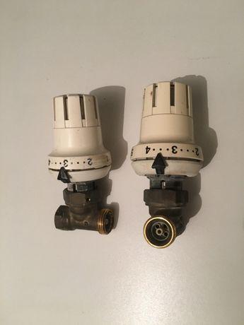 Głowica termostatyczna - pokrętło grzejnika wraz z zaworem