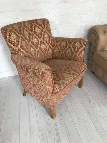 Stylowy fotel retro vintage loft glamour - antyk