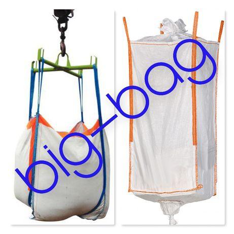 Worki Big Bag rozmiar 135cm 4 uszy lej zasypowy lej spustowy 1000kg