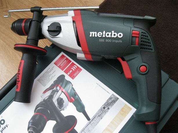 Wiertarko - wkrętarka METABO SBE 900 impuls, dwubiegowa z elektroniką.
