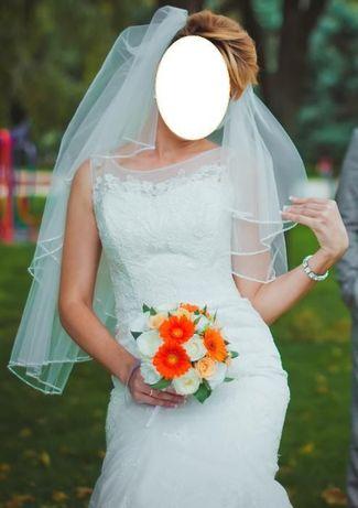 Свадебное платье на высокую девушку