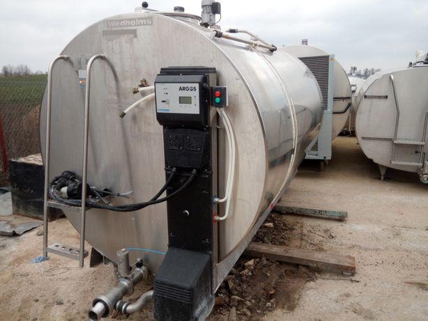 Zbiornik chłodnia do mleka 5000l Leyla Delaval Robot