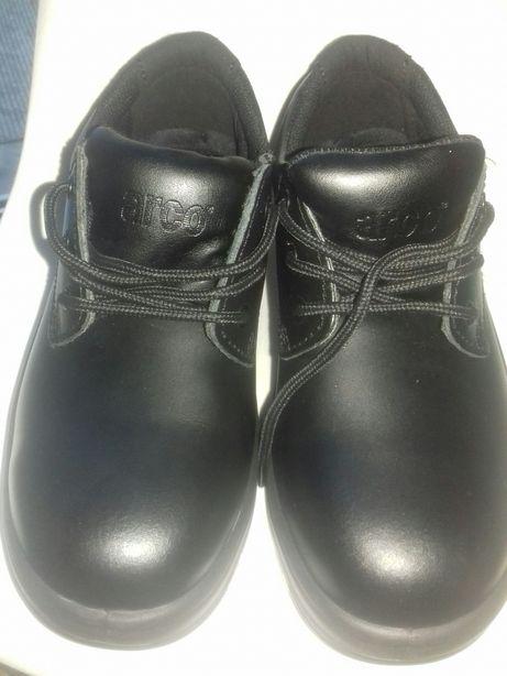 Buty półbuty skórzane z metalowym noskiem Arco ,bhp. Robocze