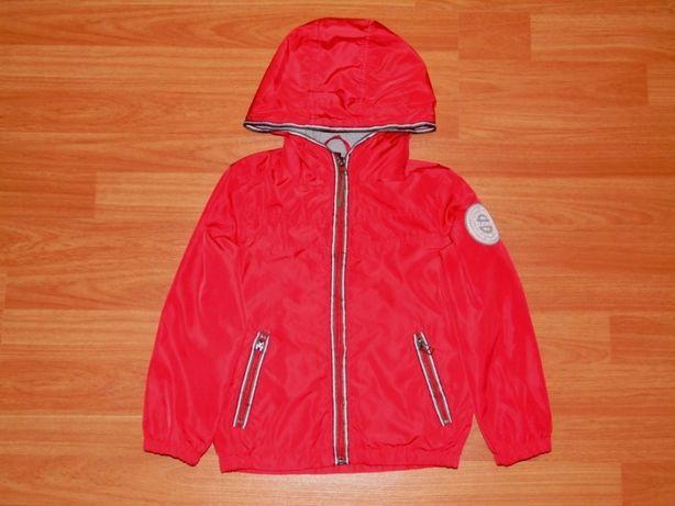 Красная ветровка,куртка,4-5 лет, 110-116 Состояние отличное