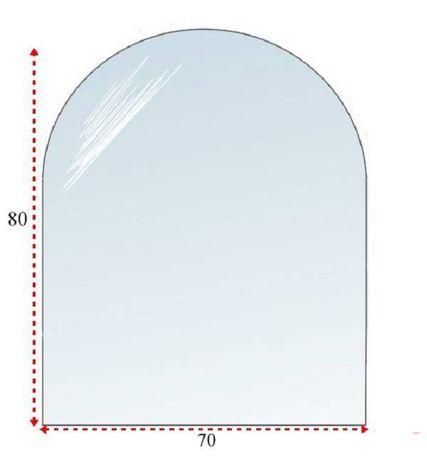 Szkło hartowane, Szyba pod kominek, Podstawa szyba 80X70