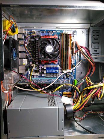 Системный блок 2 ядра - 2800 Mhz,  6 Гб памяти