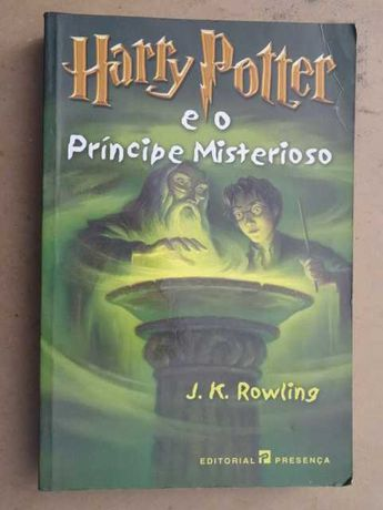 Harry Potter e o Príncipe Misterioso de J. K. Rowling - 1ª Edição