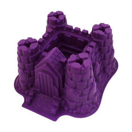Силиконовая форма для торта замок