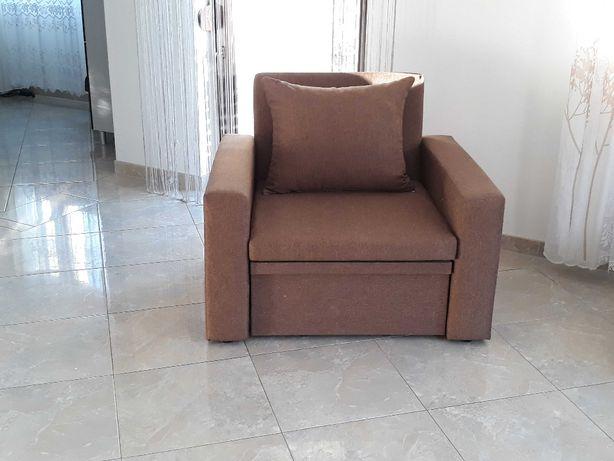 fotel rozkładany amerykanka 1-os łóżko z funkcją spania sofa /DOSTAWA