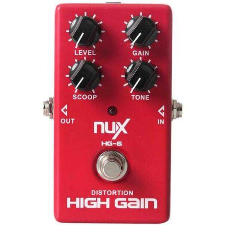 NUX HG-6 DISTORTION High Gain Efekt Gitarowy