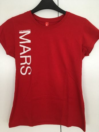 T-shirt oficial Thirty Seconds To Mars oferta de autocolantes