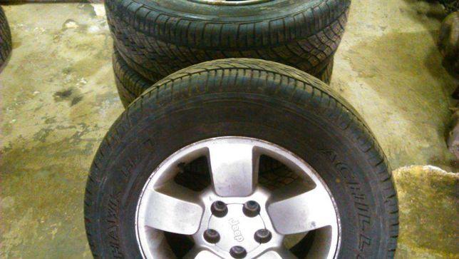 jeep grand Cherokee 2.7 crd jantes pneus 245[65R17