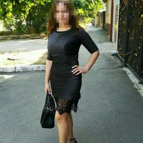 Красивое платье люрекс