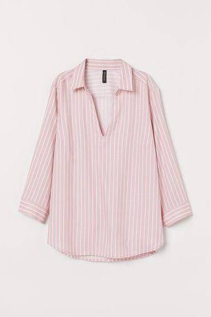 Рубашка блуза Н&М, р34 (6Uk, 2US), наш 44 примерно, 100% viscose