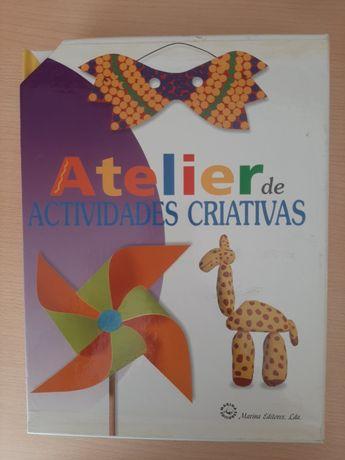 Enciclopédia de atividades criativas (6 livros capa dura)