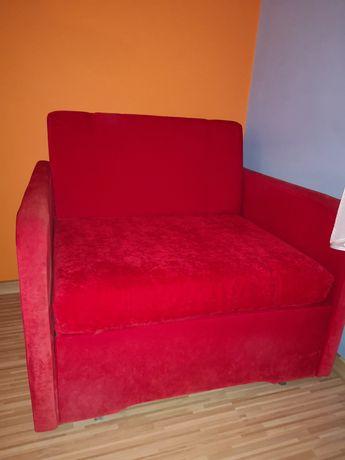 Meble: biurko, szafa, regał, komoda, fotel rozkładany - KOMPLET!