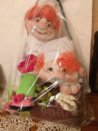 Мягкие куклы подарок