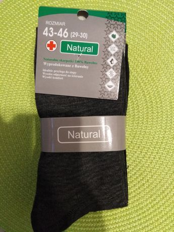 Skarpety męskie bawełniane