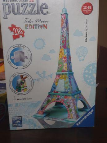 Puzzle 3D wieża.
