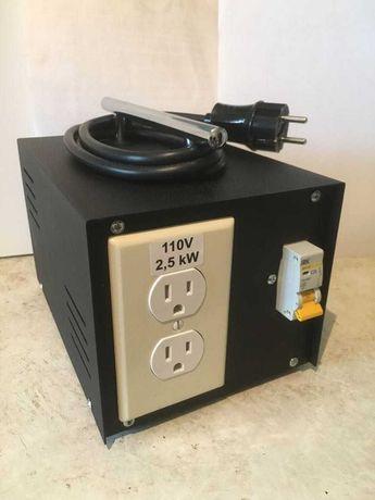 Трансформатор,перетворювач преобразователь з 220на110V- 2500W