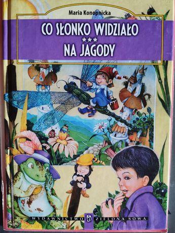 Książka - wiersze Marii Konopnickiej dla dzieci