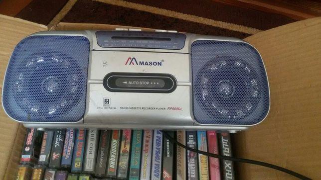 Магнитофон mason