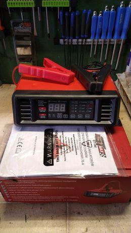 Prostownik do ładowania akumulatora 6-12v 15 A zwykłe,żelowe.