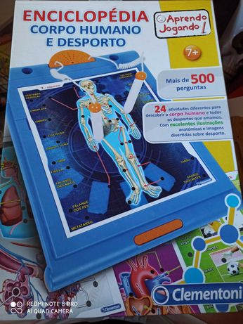 enciclopédia corpo humano e desporto