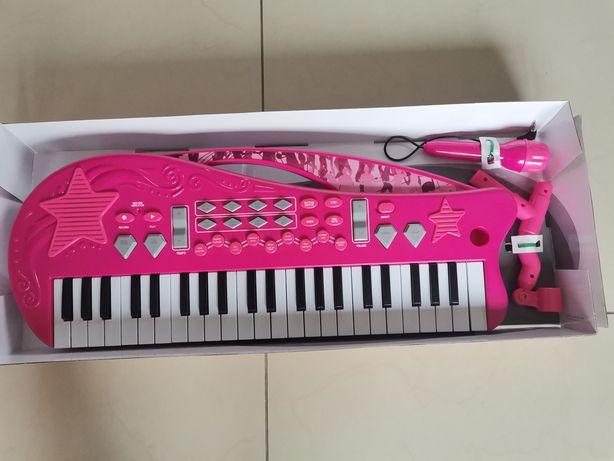 Nowy keyboard organy mp3 z mikrofonem