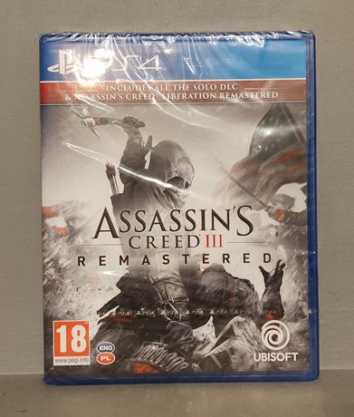 PlayStation 4! Assassin's Creed III Remastered! PS4 - Polecam