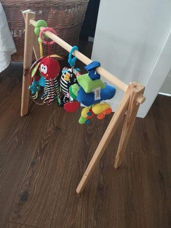 Stojak gimnastyczny na zabawki