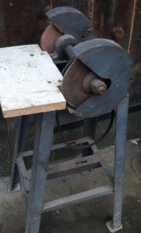 Szlifierka na tarcze gumówka przecinarka ostrzałka Gilotyna