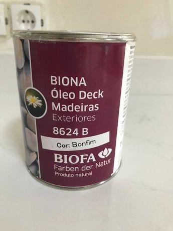 Óleo Biofa Deck para Exterior