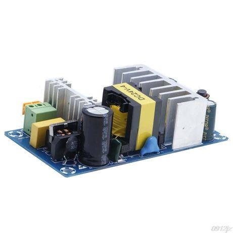 импульсный источник питания АС-DC 220-24V. Блок питания 6А. 24 вольта