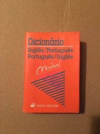 Dicionário mini || Novo || Inglês/Português || Portes GRÁTIS