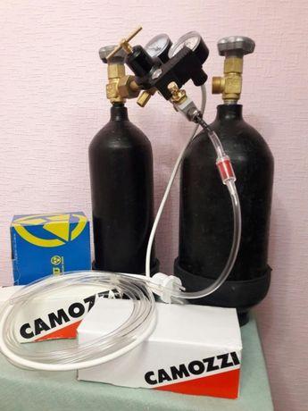 Camozzi Со2 системы углекислотные аквариумные камози баллон балон