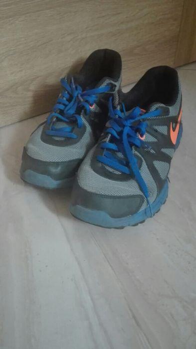 Buty szaro-niebieskie firmy Nike Mokrzyca - image 1