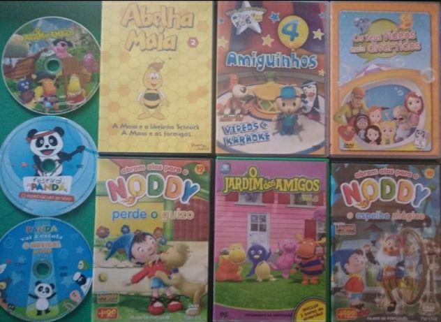 13 Dvd's Infantis