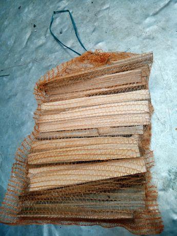 Drewno w workach, rozpałkowe 8zł, do wędzenia 10zl