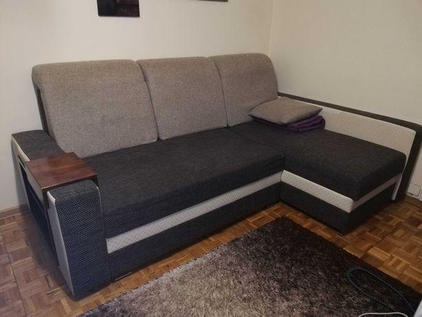 Narożnik kanapa z funkcją spania Rezerwacja