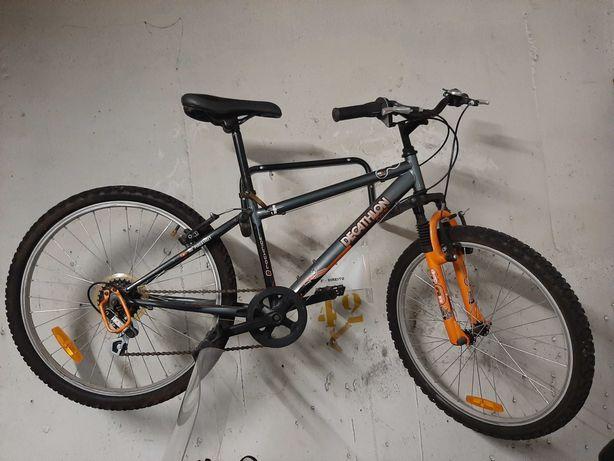 Bicicleta Decathlon Rockrider roda 24