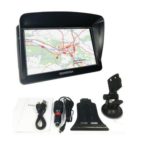 Nawigacja samochodowa GOMEDIA GPS7010 iGO Primo TIR TRUCK 7 256MB GPS