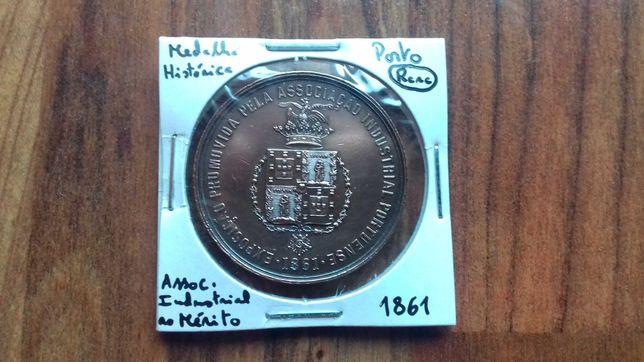 Medalha Porto 1861 D. Pedro V