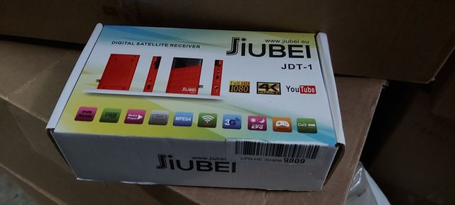 RECEPTOR DECODIFICADOR DE SATÉLITE JIUBEI JDT-1 HD 1080P iptv com wifi