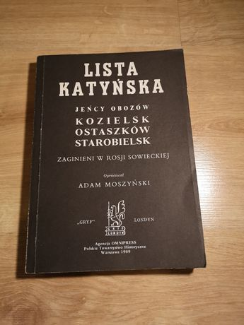 Lista Katyńska. 1989