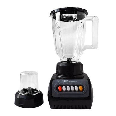 Новый блендер + кофемолка Domotec 2 в 1 / измельчитель стационарный