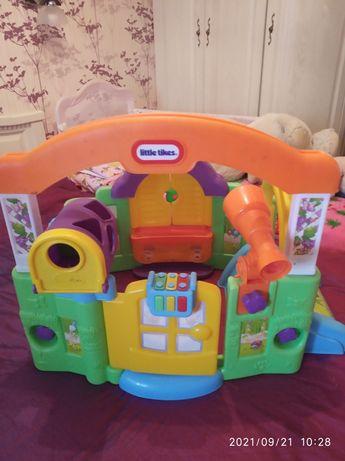 Детский игровой домик трансформер.