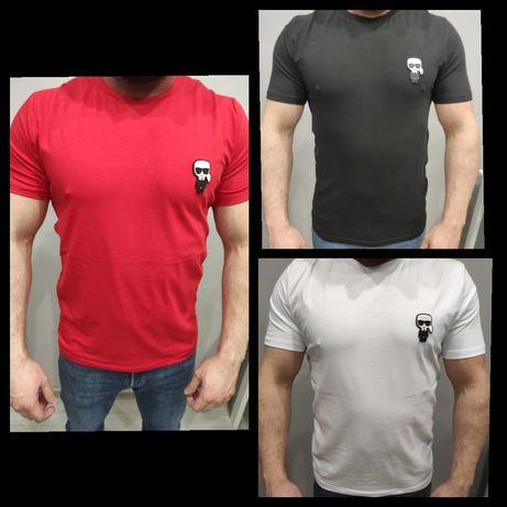 Koszulka Karl Lagerfeld Premium M-XXL Outlet Nowość