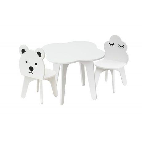 Stolik dziecięcy z krzesełkami zestaw 3 elementowy