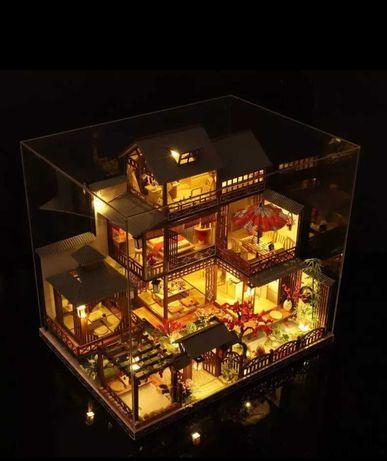 Domek dla lalek w stylu japońskim